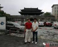 乾隆迁陕安庆移民后裔做客安庆