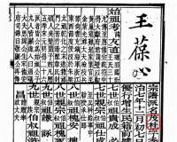 {谱牒研究}湖北罗田《东安王氏宗谱》(王葆心总纂)