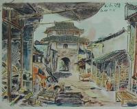 潜山县古城门