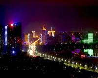 俯瞰安庆——夜景