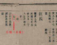 诗人海子的母族:安庆西门大族操氏